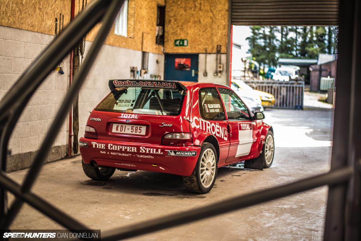 Citron SAXO//arrière Rollcage//Piste Jour//Course//Rallye//Reault Sport//Autograss//Fast Road